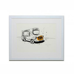 Ice Cream Van Four (Freshly Made) Print - Unframed