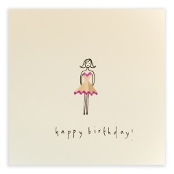 Pencil Shavings Cards - Birthday Girl Two