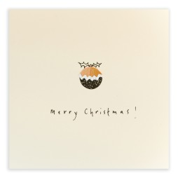 Pencil Shavings Cards - Christmas Pudding