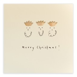 Pencil Shavings Cards - Christmas Three Kings