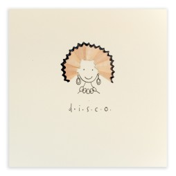 Pencil Shavings Cards - DISCO