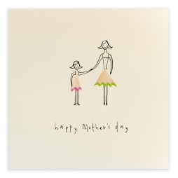 Pencil Shavings Cards - Mother's Day Daughter