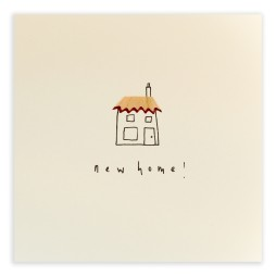 Pencil Shavings Cards - New Home