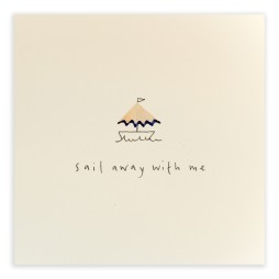 Pencil Shavings Cards - Sail Away With Me