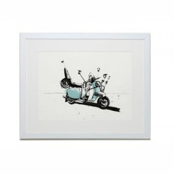 Scooter (Mirror, mirror...) Print - Unframed